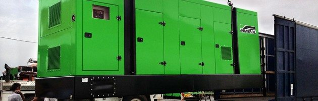 Inmesol Launches on to the Generator Market Its New Canopy Model for Housing Heavy Range