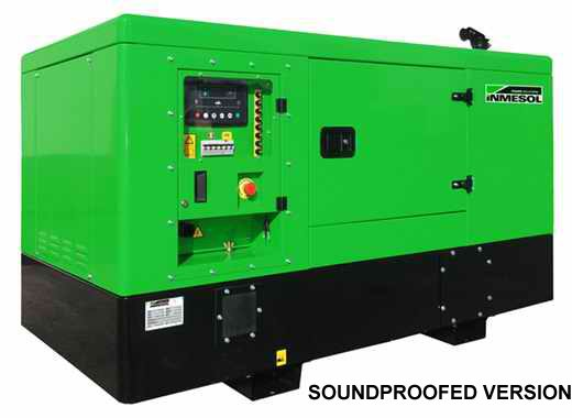 Generator sets soundproofed version