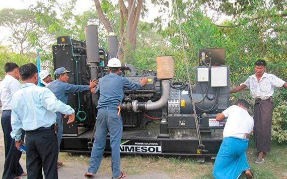 generators which it will use to reinforce its electrical power supply
