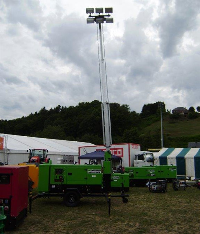 Generators sets Inmesol in Ettelbruck Agricultural Trade Fair Luxembourg 2014