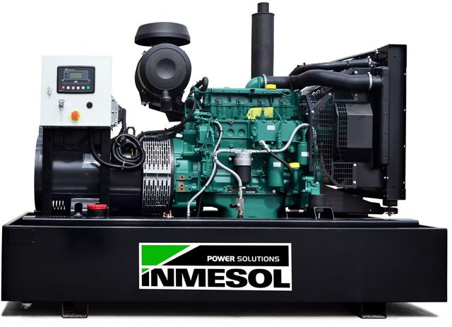 Generator set with control DSE 6020 MKII