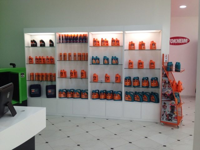 distributor for Repsol lubricants and Tokheim petrol pumps
