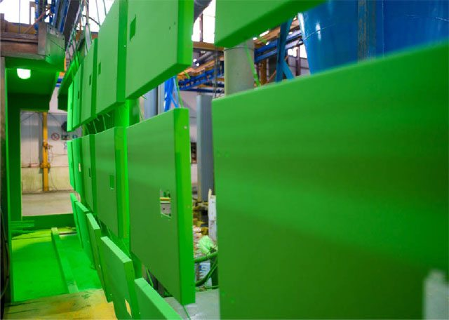 painting process of Generator Sets
