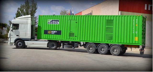 Storage and Transportation of Generator Sets INMESOL