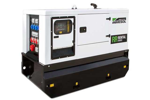 The new generator set model from the Rental range