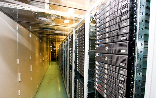 Data centre at Infomaniak