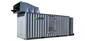 the Super-Soundproofed IT-1010 Container