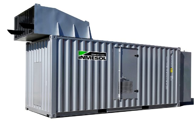 soundproofed generator container