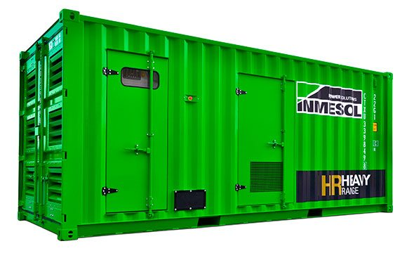 Heavy Range Generator in a Super-Soundproof container