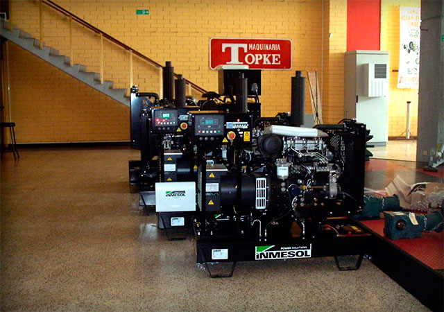 Inmesol Generator Sets are part of TOPKE's stock.