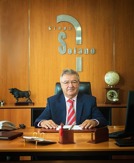 Mr. Jose Luis Solano, founder and president of Solano Group