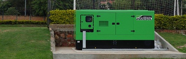Generator sets in Football Stadiums