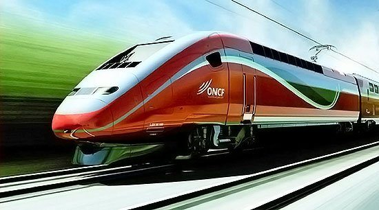 ONCF High-speed train