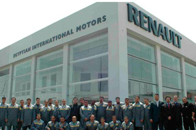 EIM is the official and exclusive importer of Renault in Egypt since 1979