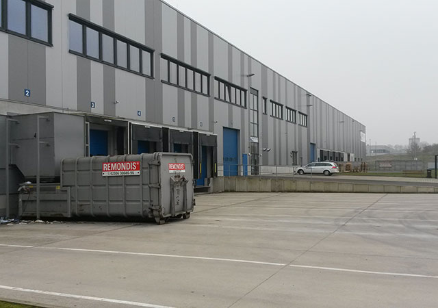 Pharmaceutical products distribution warehouse at Werne (Germany)