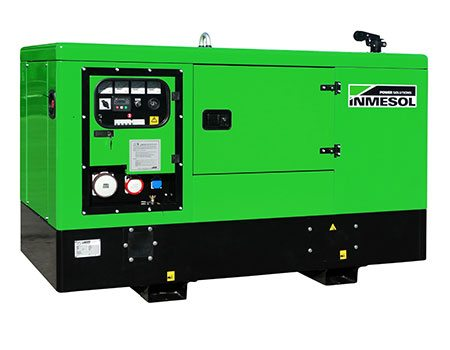 Industrial product line. Soundproof genset, model IP-022