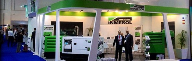 Inmesol's booth at the last Middle East Electricity edition