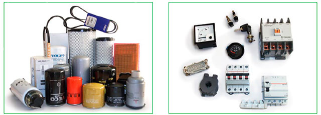 Large stock of accessories