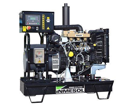 Stand-By product line. Open genset equipped with Kohler engine, model IK-022