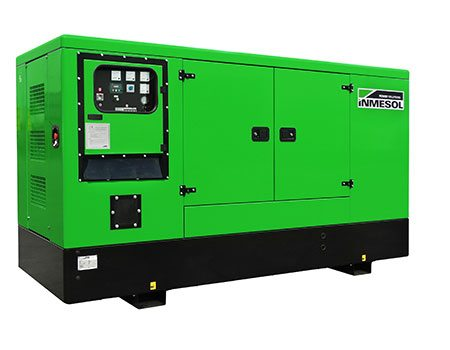 Stand-By product line. Soundproof genset, model IV-110