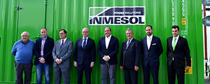 Inmesol, a Murcia-based company leader in gensets exports, receives the visit of the President of the Autonomous Community of Murcia