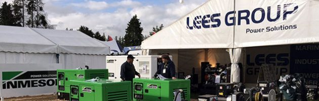LEES GROUP Power Solutions booth at the National Agricultural Fieldays
