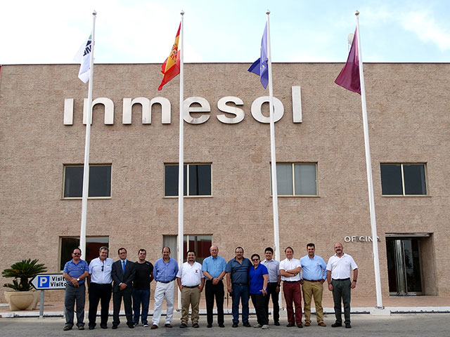 Latin American distributors and the technical and commercial team together with INMESOL Management