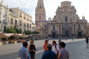 Visiting the Gothic, Renaissance, and Baroque styles Murcia Cathedral