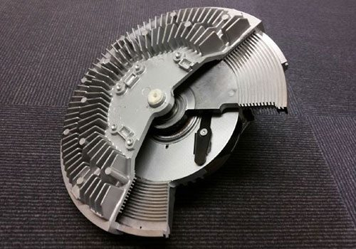 Visco fan device