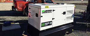 INMESOL gensets in the TRANSMISSION GULLY PROJECT