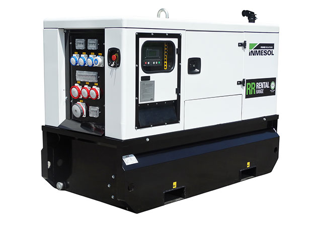 30 kVA PRP genset from the RENTAL RANGE