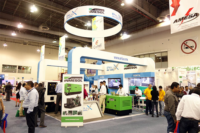 INMESOL's power generation systems displayed at the 2017 Expo Eléctrica Internacional