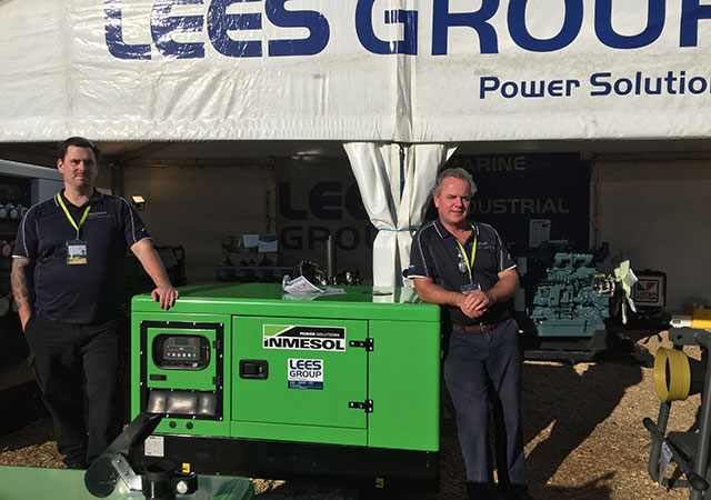 LEES GROUP Power Solutions technical and commercial team