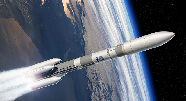 Infographic of the Ariane 6 design