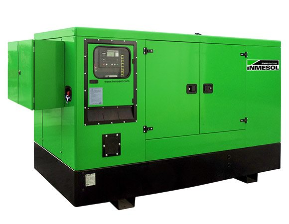 INMESOL stand-by generator set, model II-110