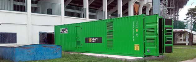INMESOL stand-by generator set, model IP-1135