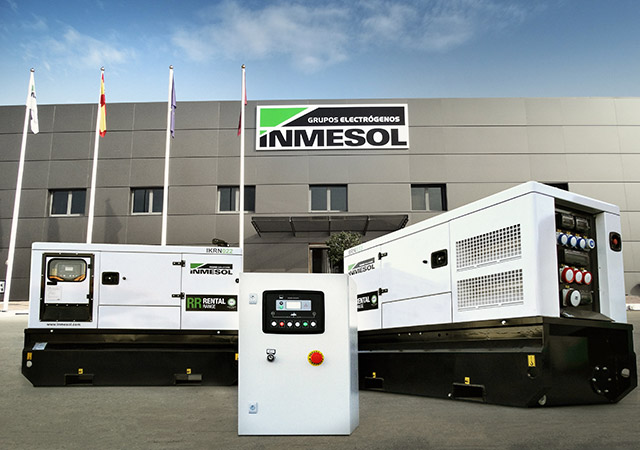 Two Rental range generator sets operating in dual mutual stand-by mode