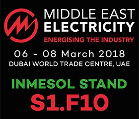 INMESOL at the Middle East Electricity, booth S1.F10