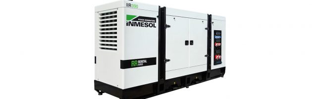 INMESOL launches its series of ultra-quiet Rental gensets