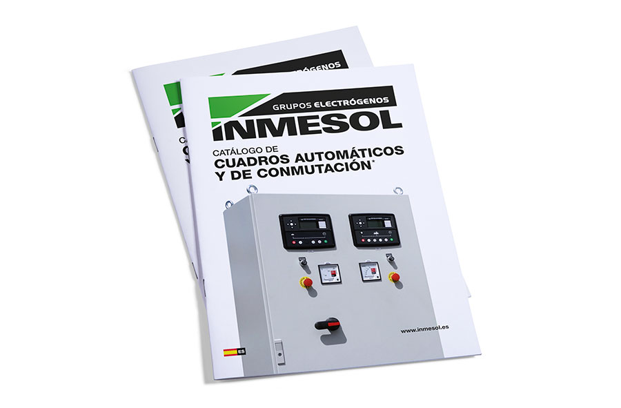INMESOL's automatic and AMF/ATS panel catalogue