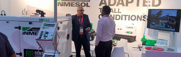 Fairs and events in which INMESOL participates Generating sets