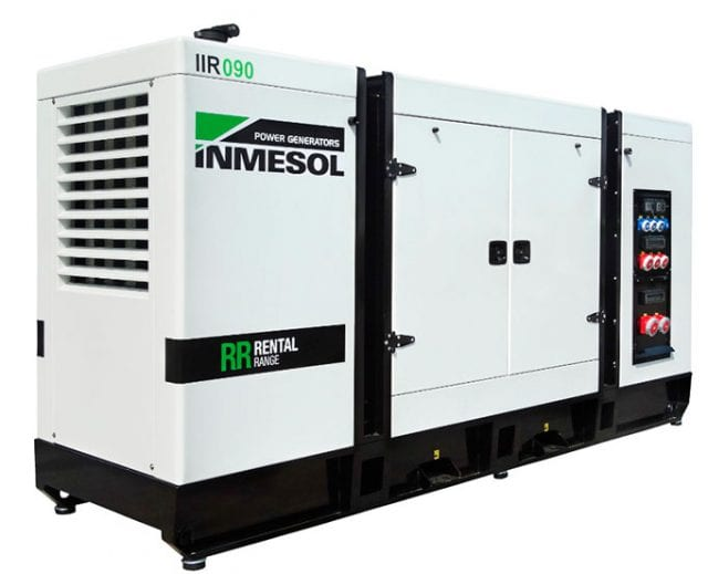 Ultra-quiet Rental Range Genset