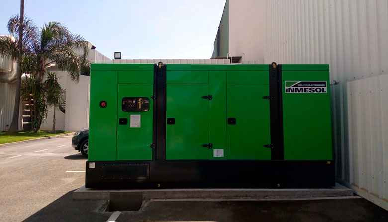 Stand-by generator set at cooper pharma