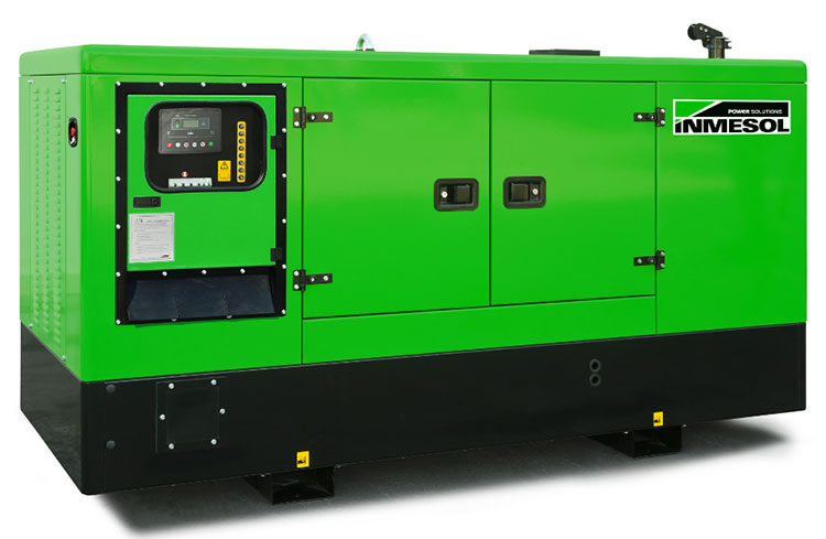 40 kVA PRP generator set in conventional canopy with rounded edges