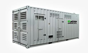 Generator sets HIGH POWERS OPEN, SOUNDPROOF, CONTAINER